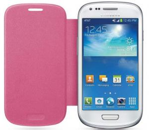 Flip Cover Voor Galaxy S3 Mini - Roze