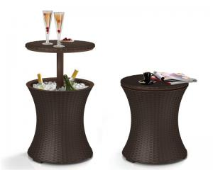 Keter Coolbar Wicker - Anthracite