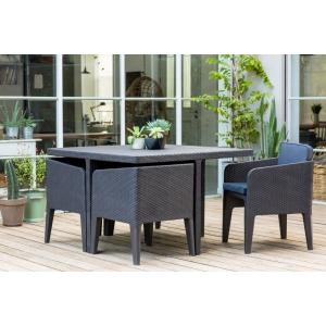 Keter Columbia Dining Set - Antraciet