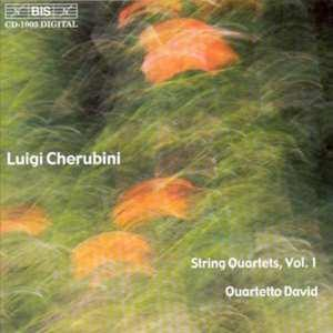 STRING QUARTETS VOL.1 W/QUARTETTO DAVID. Audio CD L. CHERUBINI