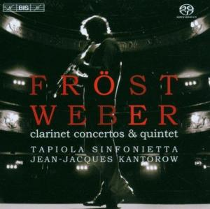 Weber Clarinet Concertos By Martin Frost & Tapiola Sinf. CD