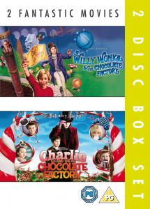 DOUBLE: WILLY WONKA / CHARLIE THE CHOCOLATE FACTORY 2PK