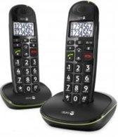 Doro Phone Easy 110 Duo Big Button Care Dect Telefoon Zwart