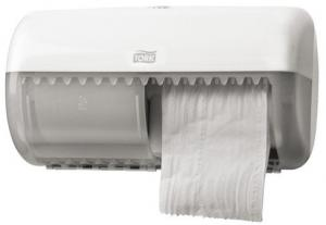 Dispenser Tork T4 Toiletpapierdispenser 557000 Wit
