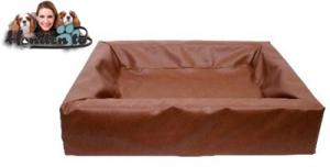 Bia Bed Hondenmand Bruin 45X45X12CM