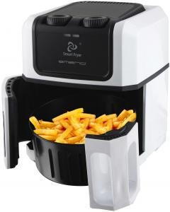 Emerio Smart Fryer / Hetelucht Friteuse Wit (7350034653264)