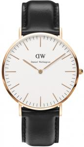 Daniel Wellington Classic Man Horloge Rose Gold - Sheffield