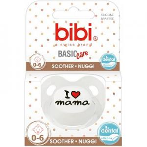 Bibi Basic Care Fopspeen - Mama 0-6 Mnd (7610472839331)
