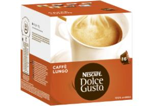 Dolce Gusto Lungo Mild 3 X 16 Cups: Cups & Capsules