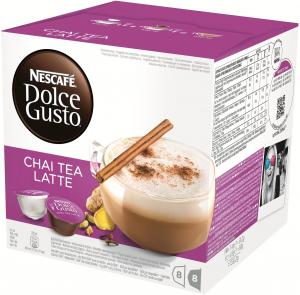 Dolce Gusto Chai Tea Latte 3 X 16 Cups: Cups & Capsules