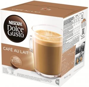 Dolce Gusto Cafe Au Lait 3 X 16 Cups: Cups & Capsules