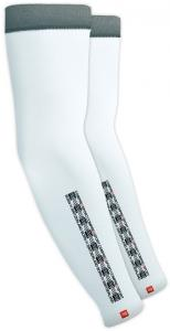 Compressport Pro Racing Arm Compression Sleeves White T4