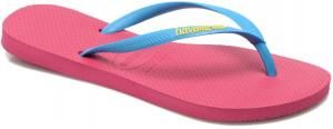 Havaianas Slim Logo Pop-up Slippers - Dames Roze Maat 41-42