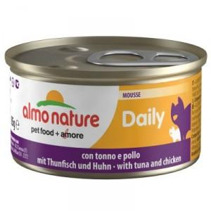 Almo Nature Cat Blik Daily Menu Mousse 85 G Tonijn - Kattenvoer