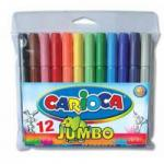 Carioca Viltstift Jumbo Superwashable 6 Stiften In Een Kartonnen