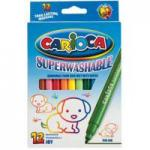 Carioca Viltstift Superwashable Joy 24 Stiften In Een Kartonnen