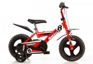 Kinderfiets Dino Bikes Pro-Cross Red 12 Inch
