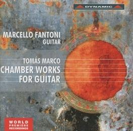 CHAMBER WORKS FOR GUITAR QUARTETTO ARCHIMIA. T. MARCO CD