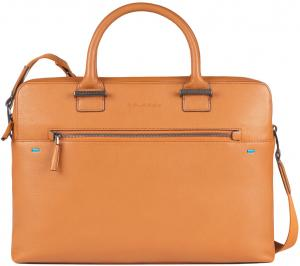 Piquadro Pike Two Handle Briefcase Cuoio