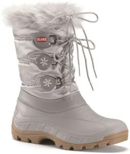 Olang OL Patty Argento Snowboots Zilver Meisjes OLPatty824m