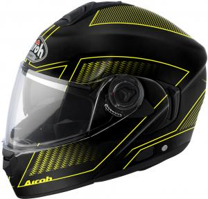 Airoh Rides RDLA31 Systeem Helm LAND - Geel L