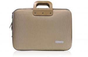 Bombata Business Laptoptas 15 6 Inch Nylon Grijs/Bruin