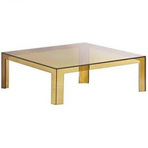 Kartell Invisible Low Table Tafel Olijfgroen