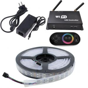 Wifi Led Strip Set RGB Dubbel 5 Meter 600 Leds