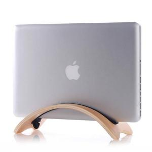 Houten Houder Apple MacBook Air/Pro/Pro Retina - Berken Licht (8438473846412)