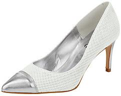 Heine Dames Pumps Wit 3536373839404142