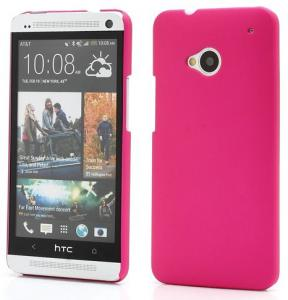 HTC One Roze Effen Slimcase