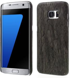 Hout Patroon Hard Plastic Galaxy S7 Edge Cover