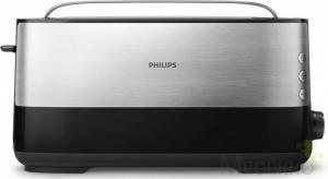 Philips HD2692/90 Broodrooster Met Stofhoes 1030W Zwart/Metallic