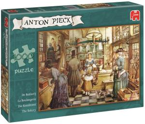 Puzzel Anton Pieck: The Bakery 1000 Stukjes