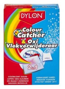 Dylon Vlekverwijderaar - Colour Cather & Oxi Poeder 2-in-1 10 Za