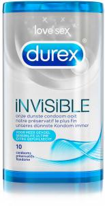 Durex Invisible Extra Sensitive - 10 Stuks