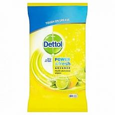 Dettol Power & Fresh Wipes Citrus 80st