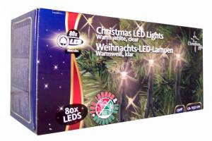 Kerstverlichting Warm Wit 80 LED