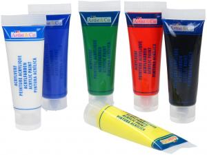 Artico Acrylverf In Tube 75ml 6 Tubes (8711252707952)