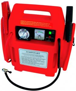 Carpoint Laadstation Power Booster Zwart/rood