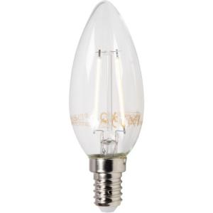 XQ1402 Filament LED-lamp Kaarsvorm E14 2W