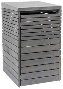 Outdoor Life Containerbox Wave - Grijs 125x80x72