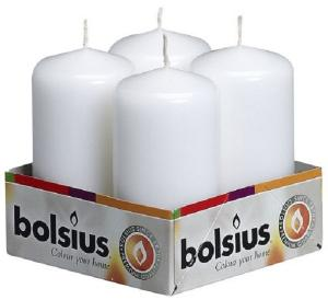 Bolsius Stompkaars 100/50mm Tray 4 Wit