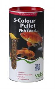 VELDA 3 COLOUR PELLET FOOD 1250 MM 440G