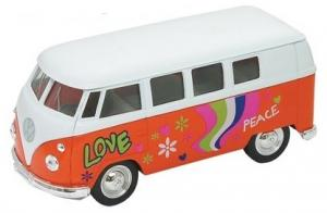 Welly VW Bus Love 1:34