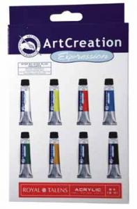 Acrylverf Talens Artcreation Expression 8 Tubes (8712079312862)
