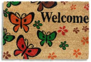 Ruco Print Welcome Butterfly