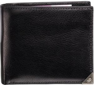 DR Amsterdam Toronto Billfold 8cc Met Removable Card Holder Blac