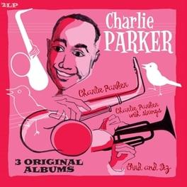3 ORIGINAL ALBUMS BIRD AND DIZ/CHARLIE PARKER/CHARLIE PARKER WIT