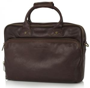 Castelijn & Beerens Firenze Business Laptoptas 156 3 Vaks Mocca